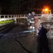 Monteforte Irpino, fiamme ad un'autovettura sulla A16: nessuna conseguenza per l'automobilista