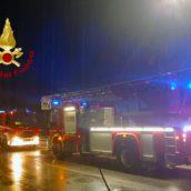 Maltempo in Irpinia: decine di interventi per i Vigili del Fuoco di Avellino