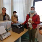 Suap di Bisaccia, donata stampante e tablet dai familiari di un paziente