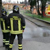 Summonte, fuga di gas a causa di una rottura di una tubazione principale: caschi rossi in azione