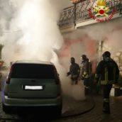 Aiello del Sabato, incendio ad un'autovettura: indagini in corso