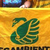 Avellino, Flash mob di Legambiente in occasione presentazione dossier Mal'Aria 2021