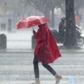Campania, allerta meteo dalla mezzanotte: in arrivo pioggia e vento forte