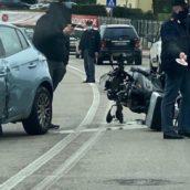 Benevento, scontro tra moto e auto: un ferito