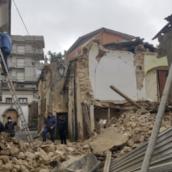 Ariano Irpino, crolla una casa disabitata: nessun ferito