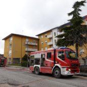 Lacedonia, ultimate le operazioni di spegnimento dell'abitazione andata a fuoco nel pomeriggio