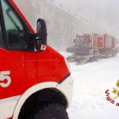 Montevergine, quattro ragazzi soccorsi bloccati dalla neve