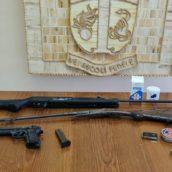 Montesarchio, arrestato dai Carabinieri per detenzione abusiva di armi