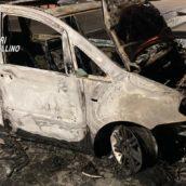 Taurano, incendio nella notte ad un'autovettura: indagano i Carabinieri