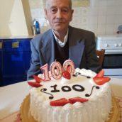 Montecalvo Irpino festeggia i 100 anni del signor Giuseppe Pucino