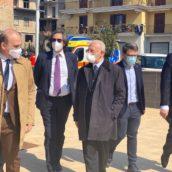 Sanità, visita a sorpresa di De Luca al Centro Vaccinale di Mugnano del Cardinale