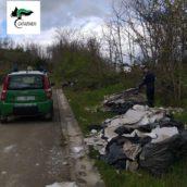 Contrasto all'abbandono di rifiuti: importanti risultati dei Carabinieri di San Giorgio del Sannio