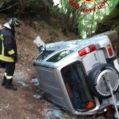 Volturara Irpina, drammatico incidente stradale: 79enne perde la vita