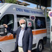 """L'Azienda Ospedaliera """"Moscati"""" potenzia il proprio parco mezzi: consegnate stamattina due ambulanze di tipo A"""