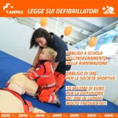 Approvata la legge sui defibrillatori. Italia all'avanguardia sul piano della riforma del primo soccorso