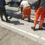 Benevento, piano straordinario di Open Fiber per la riasfaltatura delle strade