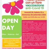 Campagna Vaccinale anti-Covid, Open Day nel weekend