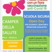 Campagna Vaccinale anti-Covid, continua il tour dei Camper nelle scuole