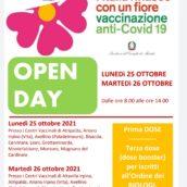 Campagna Vaccinale anti-Covid, Open Day per biologi, psicologi, ostetriche